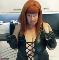 Mrs Leather. Smoky BJ Free Pic 6
