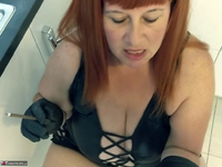 Mrs Leather. Smoky BJ Free Pic 9