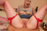 Tracey Lain. Anal Creampie & Fishnet Stockings Free Pic 17
