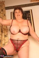 Kinky Carol. Red Kilt & Knee Highs Pt2 Free Pic 2