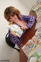Misty B. Tits and comic books Free Pic 6