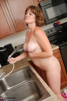 Misty B. Getting wet in the kitchen Free Pic 14