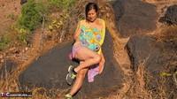Diana Ananta. Arambol Hill Pt2 Free Pic 6