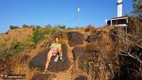 Diana Ananta. Arambol Hill Pt2 Free Pic 8