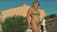 Sweet Susi. Morning Piss By The Pool Free Pic 5