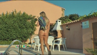 Sweet Susi. Morning Piss By The Pool Free Pic 20