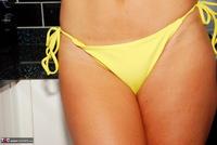 Raunchy Raven. Teensy Weensy Yellow Bikini Pt1 Free Pic 16
