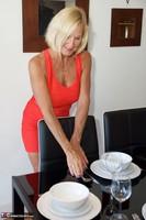 Molly MILF. Orange Dress Pt1 Free Pic 13