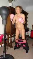 Abby Roberts. Boxing & Strip In The Garden Free Pic 8