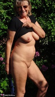 Abby Roberts. Boxing & Strip In The Garden Free Pic 16