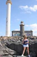 Curvy Claire. Lighthouse Exhibitionist Pt1 Free Pic 4