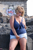 Curvy Claire. Lighthouse Exhibitionist Pt1 Free Pic 13