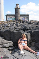 Curvy Claire. Lighthouse Exhibitionist Pt2 Free Pic 5
