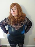 Mrs Leather. Leather & Lace Free Pic 2