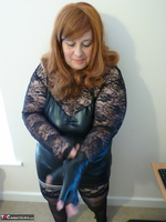 Mrs Leather. Leather & Lace Free Pic 5