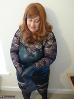 Mrs Leather. Leather & Lace Free Pic 6
