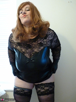 Mrs Leather. Leather & Lace Free Pic 13