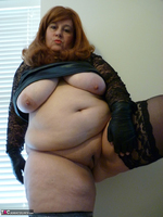 Mrs Leather. Leather & Lace Free Pic 17