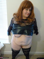 Mrs Leather. Leather & Lace Free Pic 20