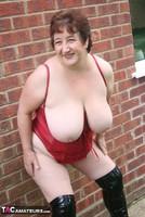 Kinky Carol. Black PVC Boots Pt2 Free Pic 4