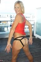 Molly MILF. Orange Dress Pt2 Free Pic 11
