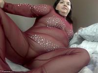 Sexy NE BBW. Body Stocking & Pussy Pumped Free Pic 6