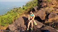 Diana Ananta. Strip On The Cliff Free Pic 1