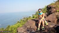 Diana Ananta. Strip On The Cliff Free Pic 2