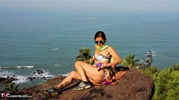 Diana Ananta. Strip On The Cliff Free Pic 5