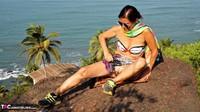 Diana Ananta. Strip On The Cliff Free Pic 6