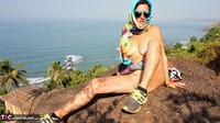 Diana Ananta. Strip On The Cliff Free Pic 19