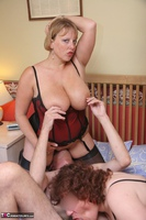 Curvy Claire. Red Hot Threesome Pt2 Free Pic 5