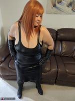 Mrs Leather. Undo My Lerather Zipped Skirt Free Pic 12