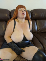 Mrs Leather. Undo My Lerather Zipped Skirt Free Pic 17