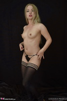 Luscious Models. Lotte Petite, Sexy Blonde In Black Pt1 Free Pic 17