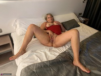 Sweet Susi. On The Bed In The Hotel Free Pic 17