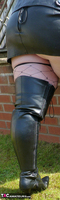 Mrs Leather. Boot Worship Free Pic 3
