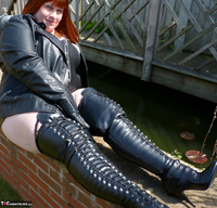 Mrs Leather. Boot Worship Free Pic 5