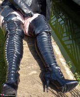 Mrs Leather. Boot Worship Free Pic 6