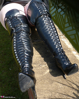 Mrs Leather. Boot Worship Free Pic 7