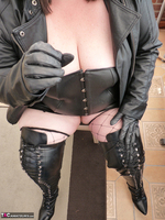 Mrs Leather. Boot Worship Free Pic 11