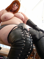Mrs Leather. Boot Worship Free Pic 12