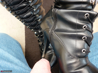 Mrs Leather. Boot Worship Free Pic 14
