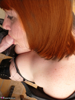 Mrs Leather. Hand & Blowjob Pt1 Free Pic 13