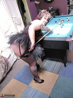 Kims Amateurs. Kim, Juicy Ginger & Candy At The Pool Table Free Pic 3