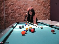Kims Amateurs. Kim, Juicy Ginger & Candy At The Pool Table Free Pic 4