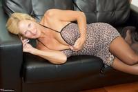Molly MILF. Leopard Print Dress Pt2 Free Pic 9