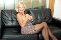 Molly MILF. Leopard Print Dress Pt2 Free Pic 12