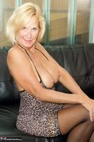 Molly MILF. Leopard Print Dress Pt2 Free Pic 13