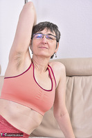 Hot Milf. Red Fitness Outfit Free Pic 10
